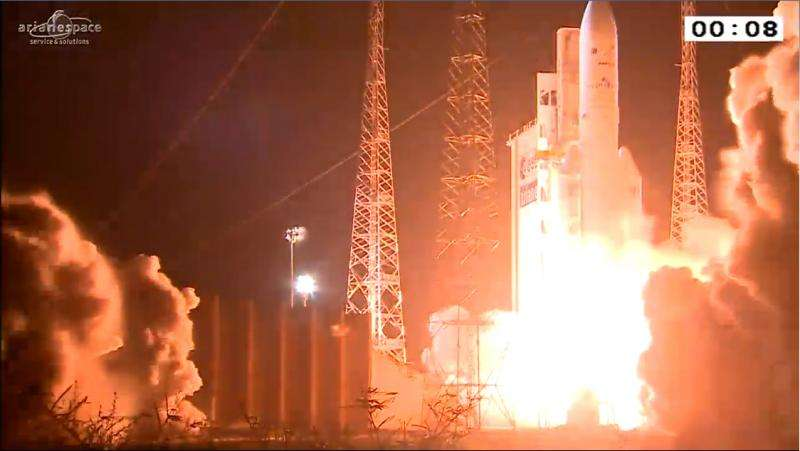 Ariane 5's first launch of 2016