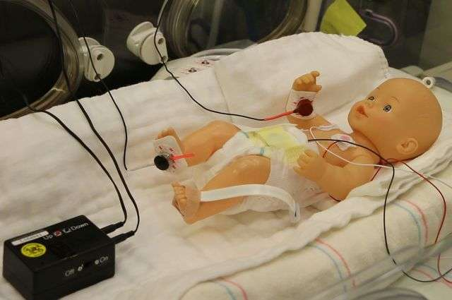 A simple treatment for a common breathing problem among premature infants