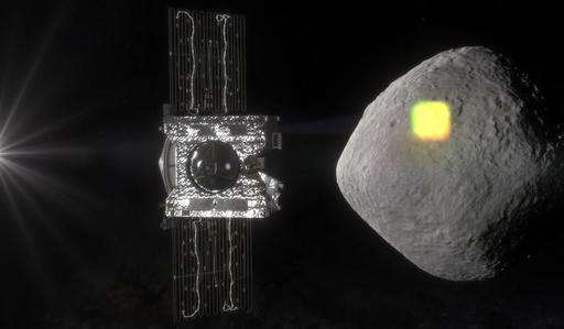 Asteroid Bennu getting first visitor in billions of years