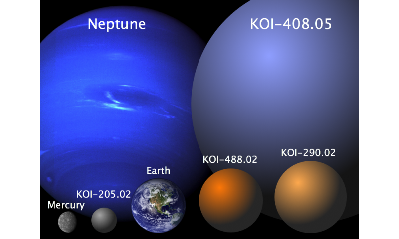 astronomy student discovers four new planets