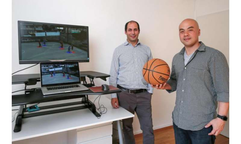 A technology developed at EPFL will be used to analyze NBA players