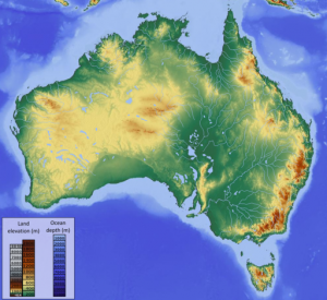Australian continent shifts with the seasons, study finds