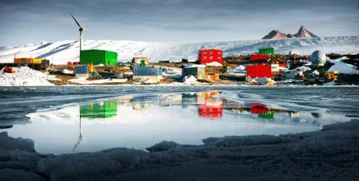 Australia's Mawson Station in Antarctica