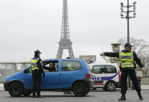 Authorities in Paris are making efforts to clean up the city's polluted air