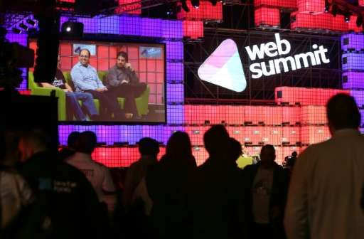 A view from Web Summit in 2014 held in Dublin, Ireland, as Portuguese government officials expect the upcoming edition to inject