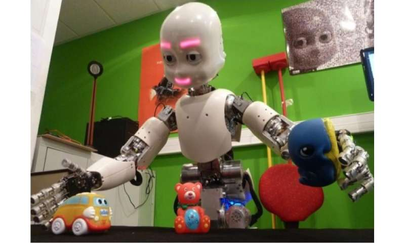 Baby robots help humans understand infant development