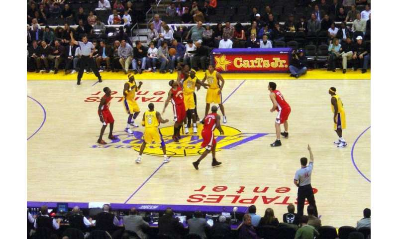 Basketball games mimic nature