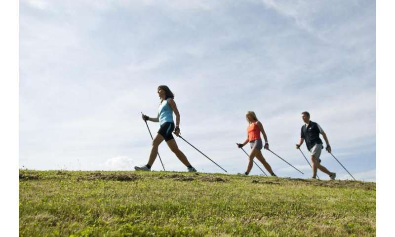 Being fit protects against health risks caused by stress at work