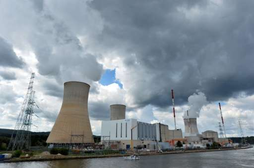 Belgian operator Electrabel said in December it had restarted a reactor at its Tihange plant, just days after being forced to sh