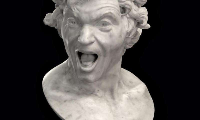 Bernini's 'Animas', were originally meant to be mythological sculptures