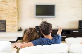 Binge watching can improve relationships between couples who don't share friends