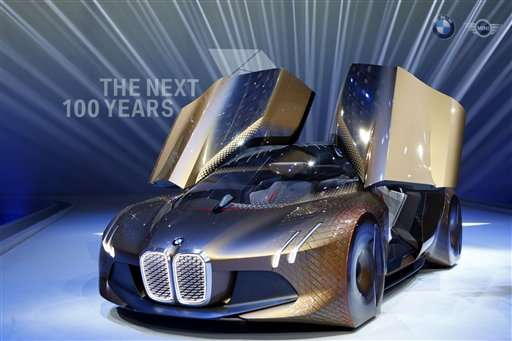 BMW Shows Off Concept Car For The Selfdriving Future - When is the next car show