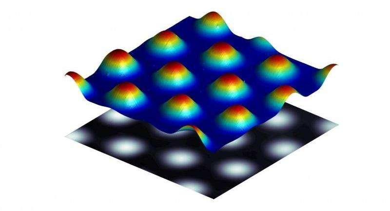Bumpy liquid films could simplify fabrication of microlenses