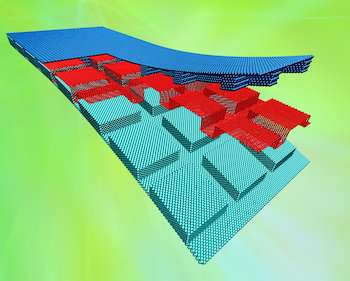 Bumpy surfaces, graphene beat the heat in devices