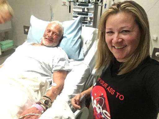 Buzz Aldrin recovers in New Zealand after polar evacuation