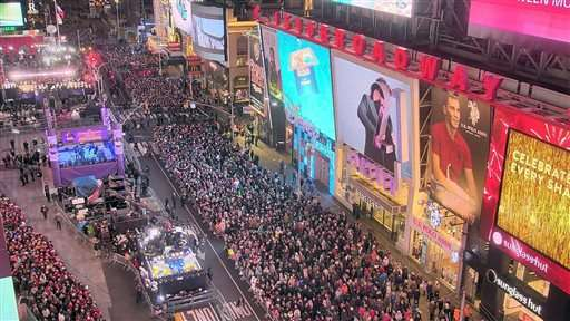 Cameras allow New Year's views all over world