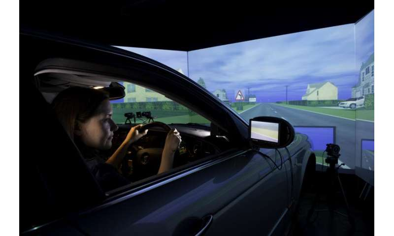 Can you detect driverless cars based on driving behaviours?