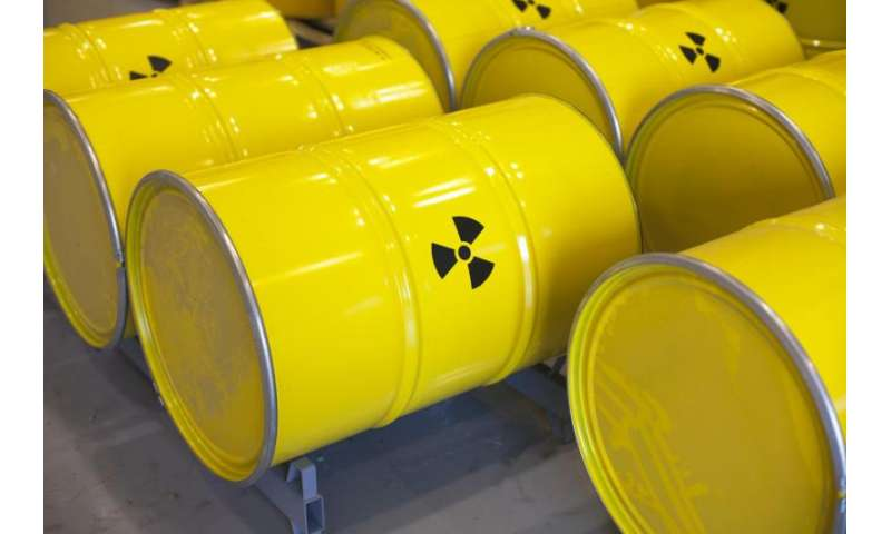 Chemistry research breakthrough could improve nuclear waste recycling technologies