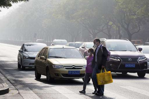 China announces plan to curb carbon emissions