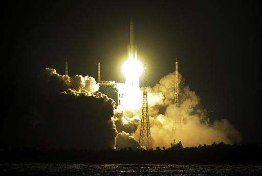 China says new rocket brings space station plans closer