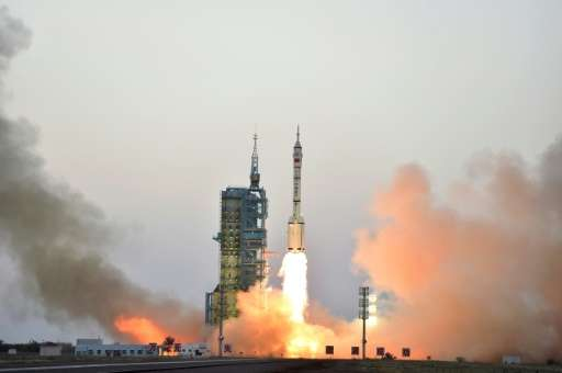 """China state media says the launch of a CO2 monitoring satellite will give the country a """"louder voice"""" in future carbo"""