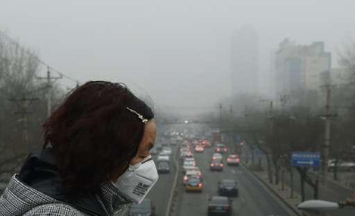 Chinese cities are regularly smothered in a haze of particulates, often far exceeding global health guidelines