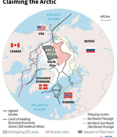 Why is there not a border between Canada and Russia if the ...