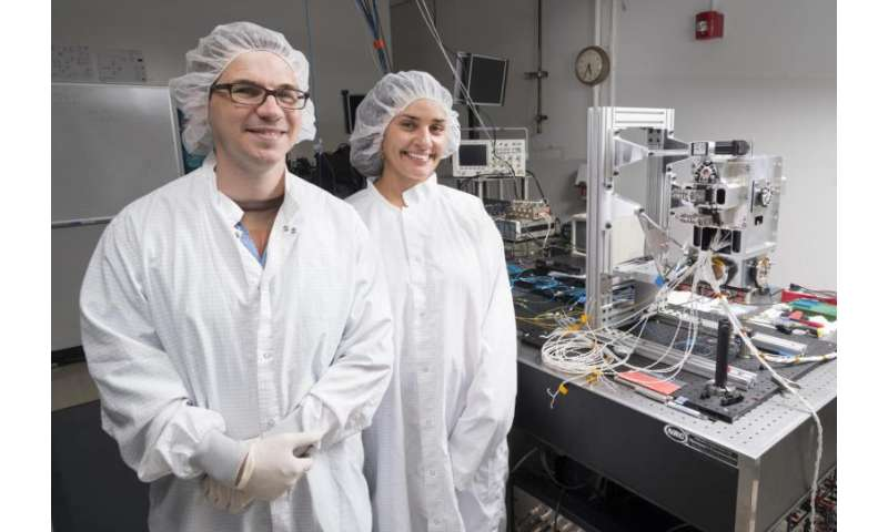 Cold Atom Laboratory Doing Cool Research