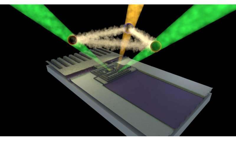 Colors from darkness: Researchers develop alternative approach to quantum computing