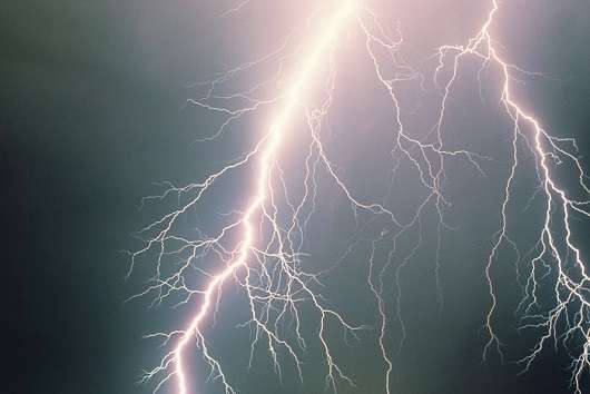 Could ferocious lightning storms on other planets beam radio signals to Earth?