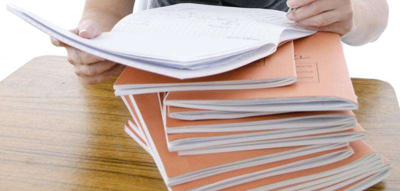 Could teachers do less marking for better results?