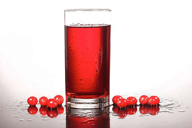 Cranberry juice might boost heart health