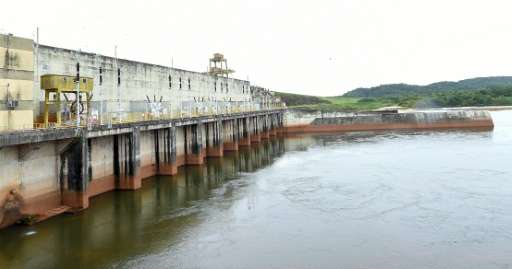 Critics have blasted the Balbina dam, located near the equator line some 200 kilometers (125 miles) north of the Amazonian city