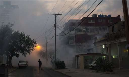 Cuba reports first case of Zika transmitted on the island