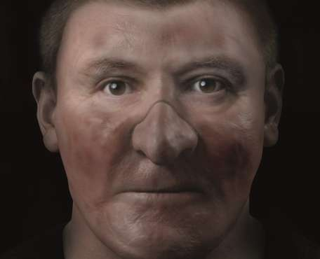 Digitally reconstructed skull and face may reveal Robert the Bruce, king-hero of the Scots