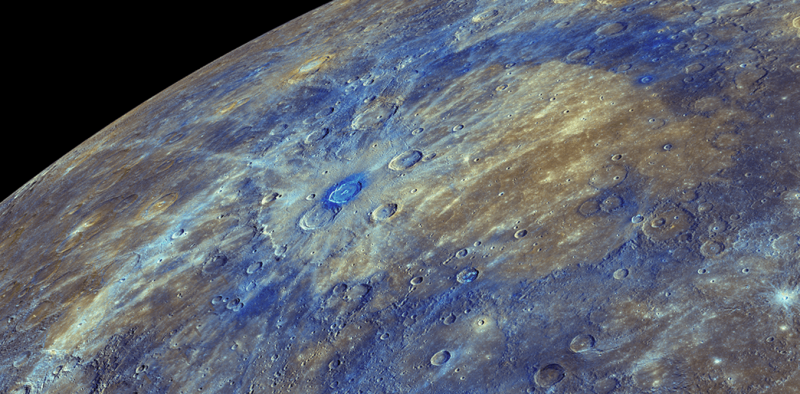 Discovery of carbon on Mercury reveals the planet's dark past