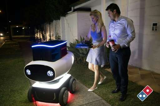 Dominos To Trial Robots For Pizza Delivery
