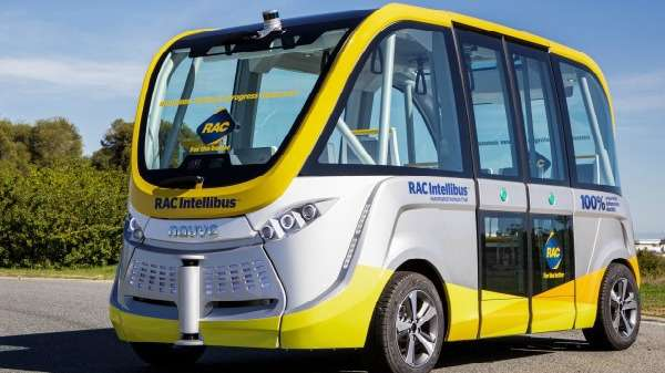 Driverless shuttlebus undergoes trial in South Perth
