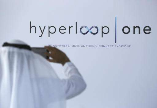 Dubai, Hyperloop One to study potential for Abu Dhabi line