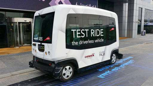 Dubai pushes the pedal to the metal on driverless cars