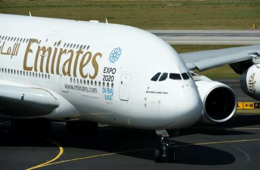 """Dubai's Emirates Airline, the largest Middle East carrier,said it will comply """"immediately"""" with the instruction to b"""