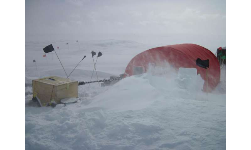 During last warming period, Antarctica heated up two to three times