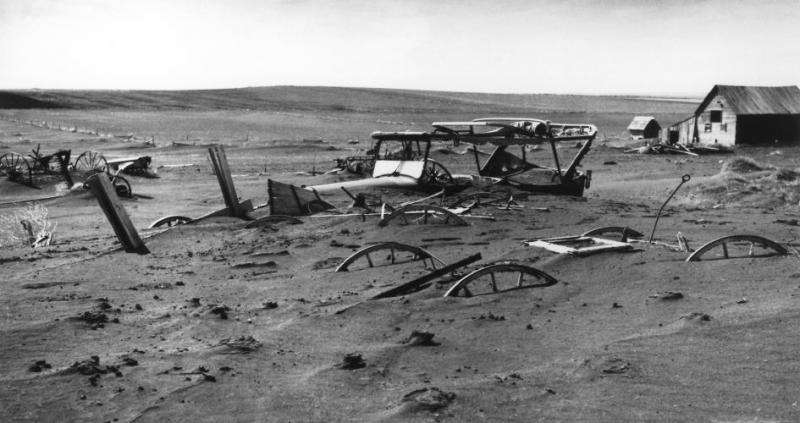 Dust Bowl would devastate today's crops, study finds