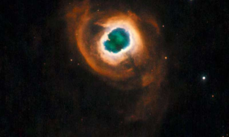 Dying star offers glimpse of our sun's future