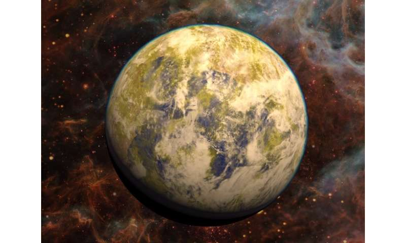 Earth-like planet may exist in a nearby star system