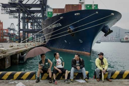 East Asia which holds eight of the world's top ten container ports, now accounts for more than a sixth of global shipping activi
