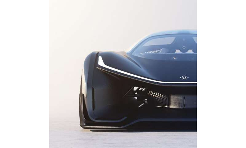 Electric 'Batmobile' reveals how Chinese have supercar market in their sights