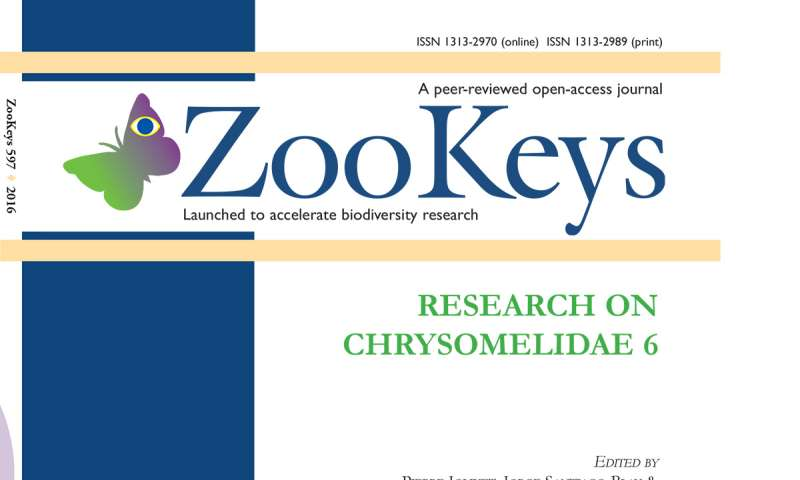 End of an era: New sixth volume Research on Chrysomelidae the last with its original editors