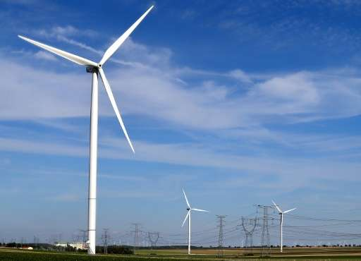 Environment Minister Segolene Royal said the number of wind farms would double in France, while electricity obtained from solar