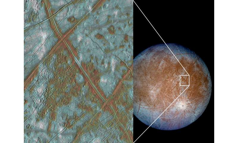 Europa's heaving ice might make more heat than scientists thought